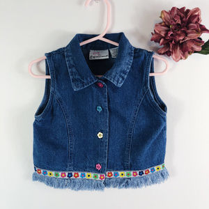 [EXPRESSIONS] Denim Button Up Top